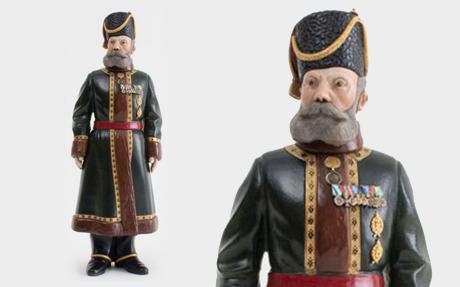 Fabergé figurine found in a loft