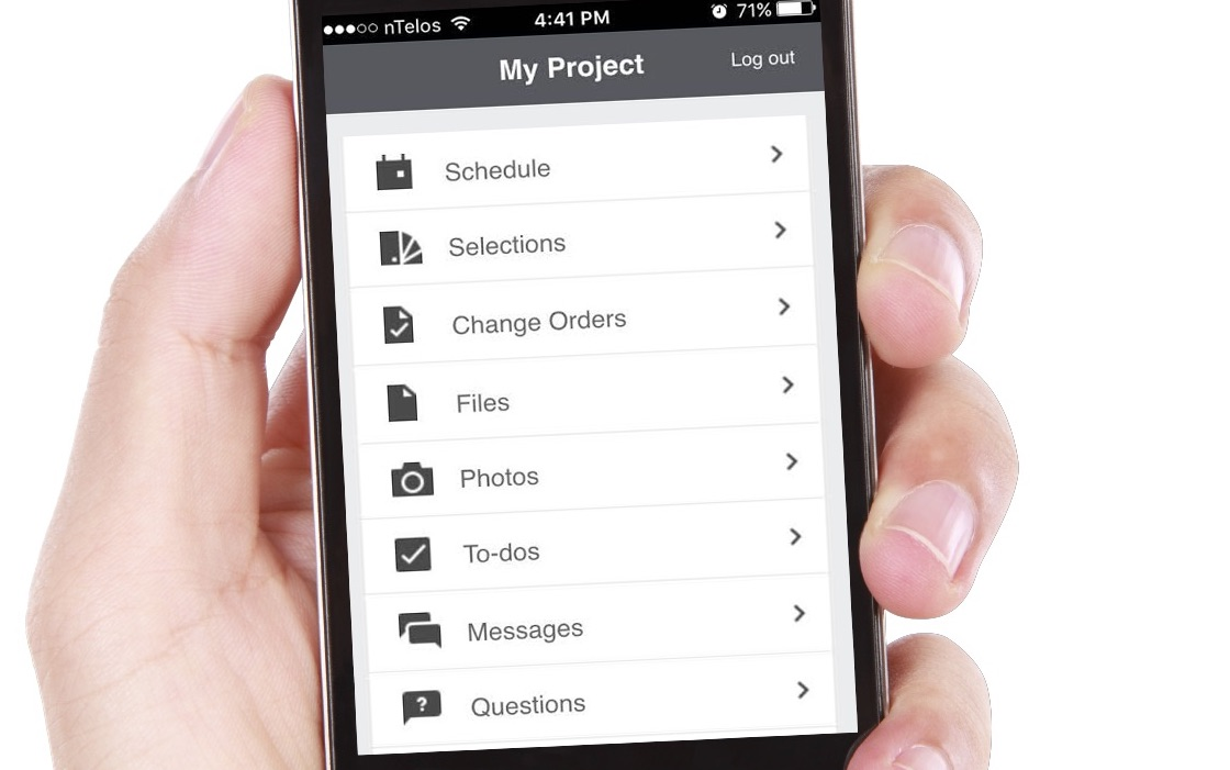Jon Pritchard's mobile app lets you keep track of your loft conversion project wherever you are