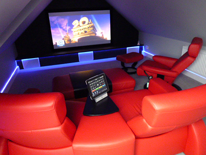Loft conversion ideas - home cinema