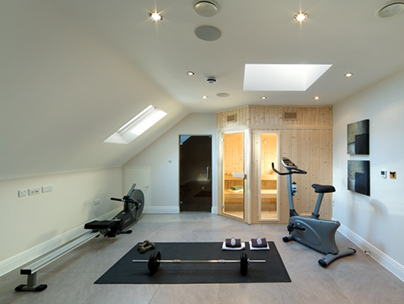 Loft conversion ideas - home gym
