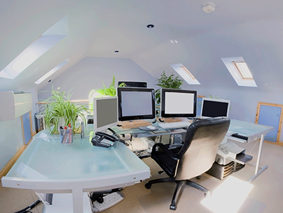 Loft conversion ideas - home office