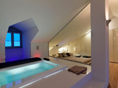 Loft conversion ideas - hot tub