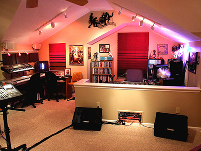 Loft conversion ideas - recording studio