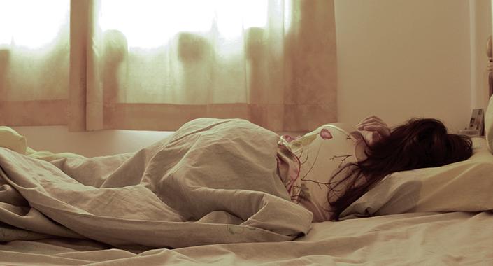 sleeping-wife