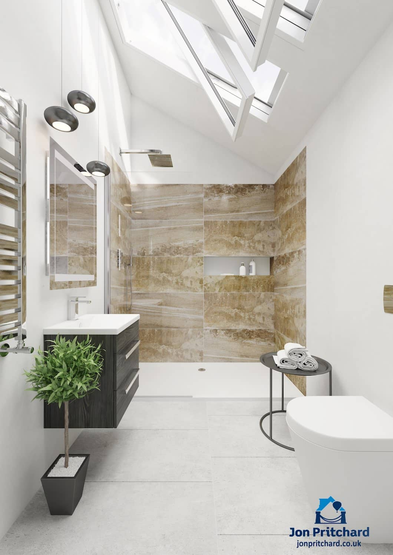 Loft conversion bathrooms & ensuites   Jon Pritchard Ltd