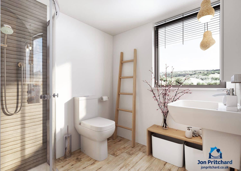 Loft conversion bathrooms & ensuites | Jon Pritchard Ltd